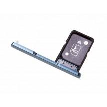 Bandeja porta tarjeta Sim y MicroSD color Azul para Sony Xperia XA2