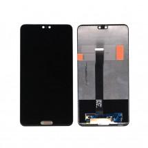 Pantalla LCD y táctil color negro para Huawei P20