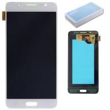 Pantalla ORIGINAL Service Pack LCD mas táctil color blanco para Samsung Galaxy J5 J510F (2016)