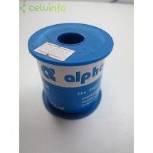 ESTAÑO HILO ALPHA 0.8mm 500g