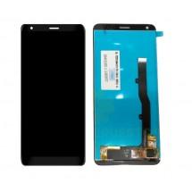 Pantalla completa LCD y táctil color negro para ZTE Blade V9 Vita