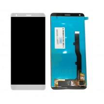 Pantalla completa LCD y táctil color blanco para ZTE Blade V9 Vita