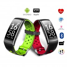 Pulsera inteligente Smartband Q8 - impermeable - varios colores
