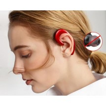 Auriculares Bluetooth K8 manos libres color negro para iOS y Android
