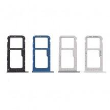 Bandeja porta tarjeta Sim y MicroSD para Huawei Honor 9 Lite - elige color