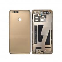 Tapa trasera color dorado incluido botones laterales para Huawei Honor 7X
