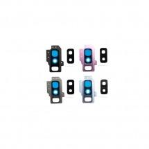 Cristal cámara trasera para Samsung Galaxy S9 Plus G965F - elige color