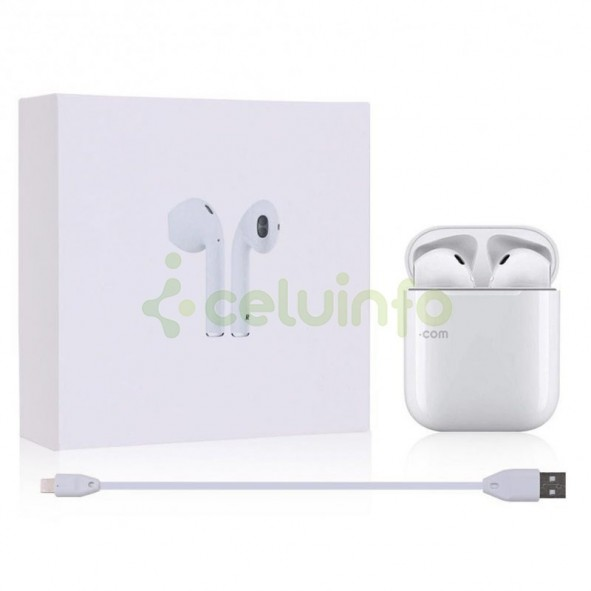 e494c528efd Auriculares Bluetooth i8X tipo Airpods compatible con iOS y Android ...