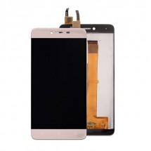 Pantalla completa LCD y táctil color dorado para Wiko Lenny 3 Max