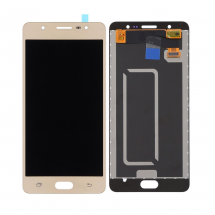 Pantalla completa LCD y táctil color dorado para Samsung Galaxy J7 Max (G615F)