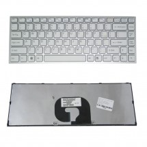 Teclado para Sony VPC-Y Series ENG color Blanco