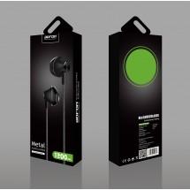 Auriculares BOFON Metal manos libres 1.2m mod. BF010