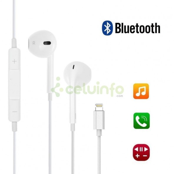 e10de0c37a6 Auriculares Bluetooth Lightning compatibles con iOS iPhone 7 / 7 Plus / 8 / 8  plus ...