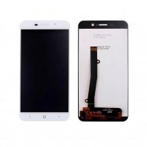Pantalla completa LCD y táctil color blanco para ZTE Blade A602