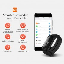 Xiaomi Mi Band 3 Smart Band pulsera deportiva inteligente color negro