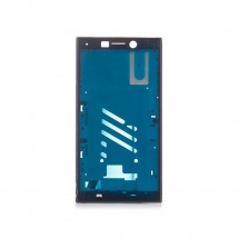 Marco frontal display color negro para Sony Xperia L2
