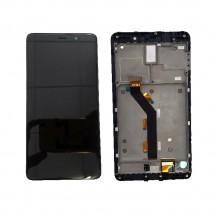 Pantalla LCD más táctil con marco color negro para Xiaomi Mi5s Plus