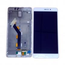 Pantalla LCD más táctil con marco color blanco para Xiaomi Mi5s Plus