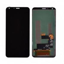 Pantalla compelta Lcd y Táctil color Negro para LG Q6 M700A