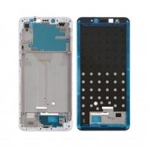 "Marco frontal pantalla color blanco para Xiaomi Redmi S2 5.99"""