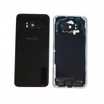 Tapa trasera con cristal lente y lector huella para Samsung Galaxy S8 G950F - elige color