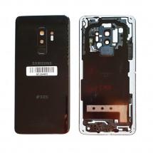 Tapa trasera con cristal lente y lector huella para Samsung Galaxy S9 plus G965F (swap) - elige color