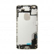 Chasis Trasero (tapa) completo CON COMPONENTES para iPhone 6Plus color Silver