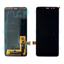 Pantalla LCD y táctil color negro para Samsung Galaxy A8 2018 (A530F)