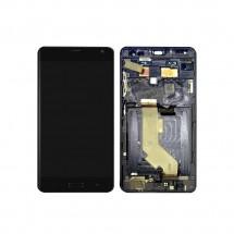 Pantalla LCD y táctil color negro con marco para Asus Zenfone AR ZS571KL