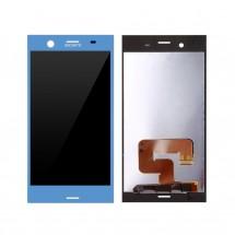 Pantalla LCD y táctil color Azul para Sony Xperia XZ1