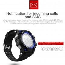 Reloj inteligente Smartwatch D - Sumergible - Notificaciones - elige color