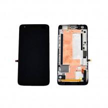 Pantalla Tactil + LCD con marco color negro para ZTE GRAND S ATHENA V988