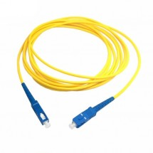 Cable Fibra Óptica RED longitud 1m color amarillo