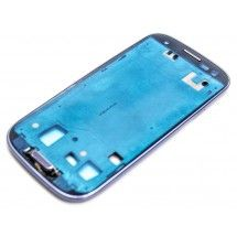Marco frontal display para Samsung Galaxy S3 Azul