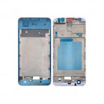 Marco frontal display color blanco para Huawei Mate 10 Lite