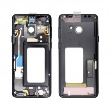 Chasis intermedio color Gris / negro para Samsung Galaxy S9 Plus G965F