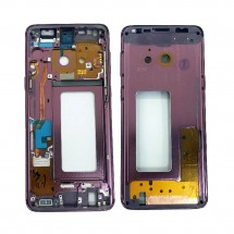 Chasis marco intermedio color púrpura / violeta para Samsung Galaxy S9 G960F
