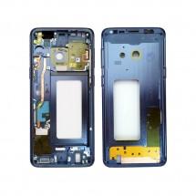 Chasis marco intermedio color azul para Samsung Galaxy S9 G960F