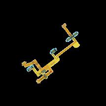 Repuesto de Flex botones laterales power y volumen para Sony Xperia XZ2 Compact H8314 H8324