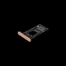 Bandeja porta tarjeta SIM y MicroSD color rosa para Sony Xperia XZ2 Compact