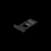 Bandeja porta tarjeta SIM y MicroSD color negro para Sony Xperia XZ2 Compact Dual