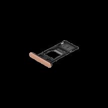 Bandeja porta tarjeta SIM y MicroSD color rosa para Sony Xperia XZ2 Compact Dual