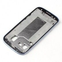 Marco frontal display para Samsung Galaxy S3 Blanco