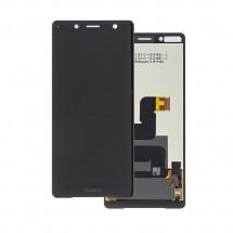 Pantalla completa LCD y táctil color Negro para Sony Xperia XZ2 Compact