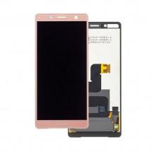 Pantalla completa LCD y táctil color rosa para Sony Xperia XZ2 Compact