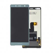 Pantalla completa LCD y táctil color verde para Sony Xperia XZ2 Compact