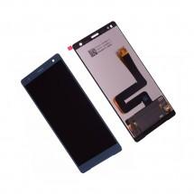 Pantalla completa LCD y táctil color verde para Sony Xperia XZ2