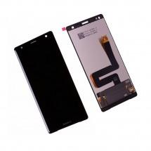 Pantalla completa LCD y táctil color negro para Sony Xperia XZ2