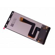 Pantalla completa LCD y táctil color plata para Sony Xperia XZ2