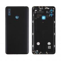 Tapa trasera color negro con cristal lente cámara trasera para Xiaomi Mi Max 3